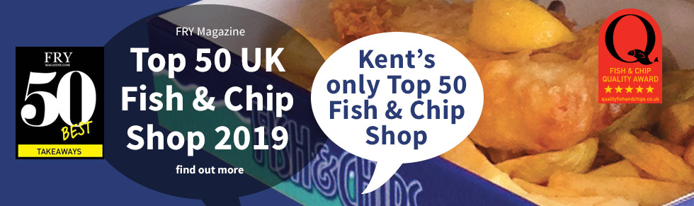 Catch Fish and Chips - Recognised as One of the Top 50 Fish and Chip Shops in the UK for 2019 by Fry Magazine