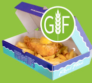 Gluten Intolerant? On Wednesdays all our Fish & Chips are Gluten Free!